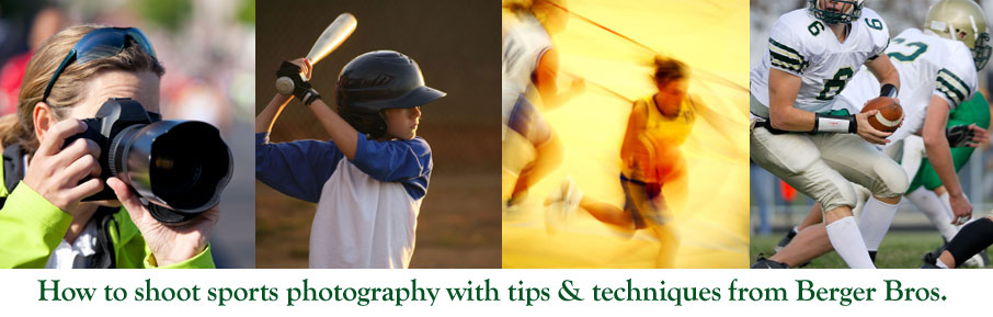 how to photograph sports